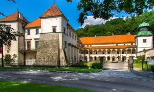 Widok zamku od strony ul. Zamkowej